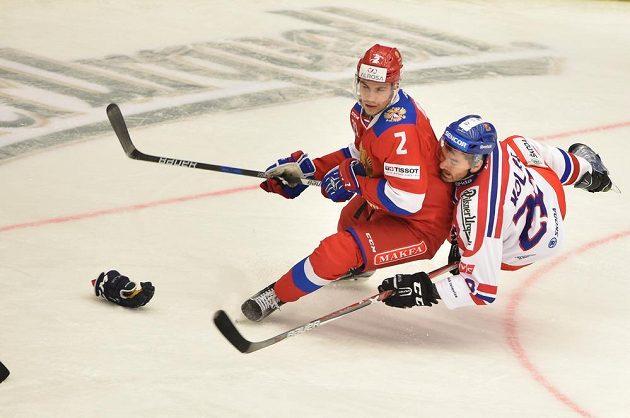 Anton Zub z Ruska se srazil s Janem Kolářem z České republiky.