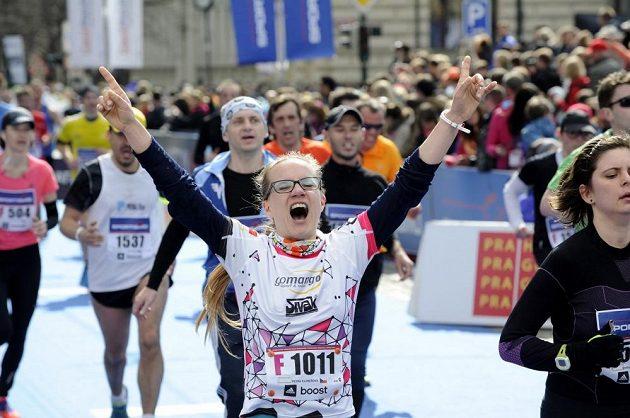 Radost některých běžců se dala rozdávat.
