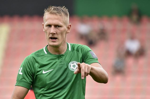 Spokojený fotbalista Michal Škoda z Příbrami.