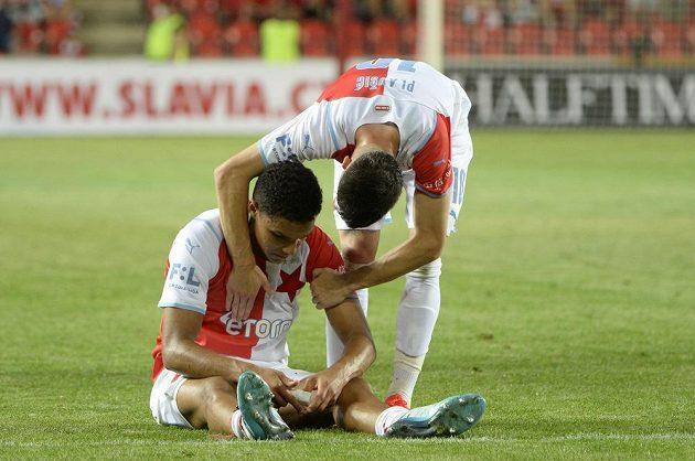 Zprava Srdjan Plavšić a Alexander Bah po skončení zápasu