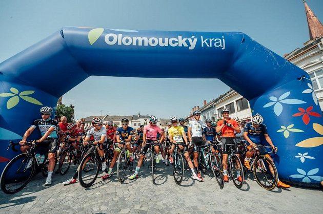 Start 3. etapy Czech Cycling Tour.