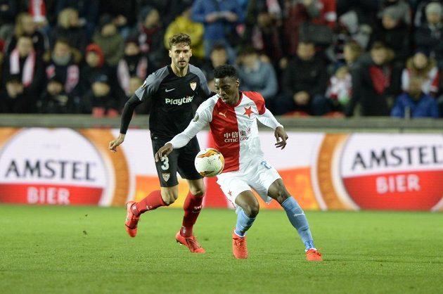Slavia bojovala o postup do čtvrtfinále Evropské ligy