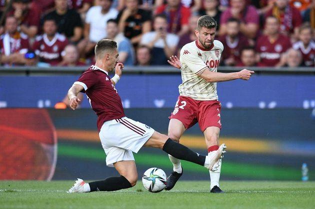 Fotbalisté Sparty bojovali o postup do třetího předkola Ligy mistrů