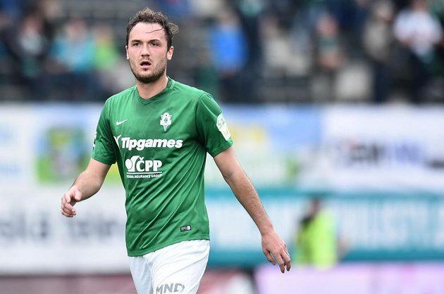 Střelec dvou gólů Jablonce Martin Doležal.