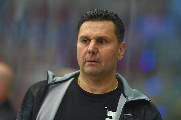 Trenér hokejového Chomutova Vladimír Růžička.