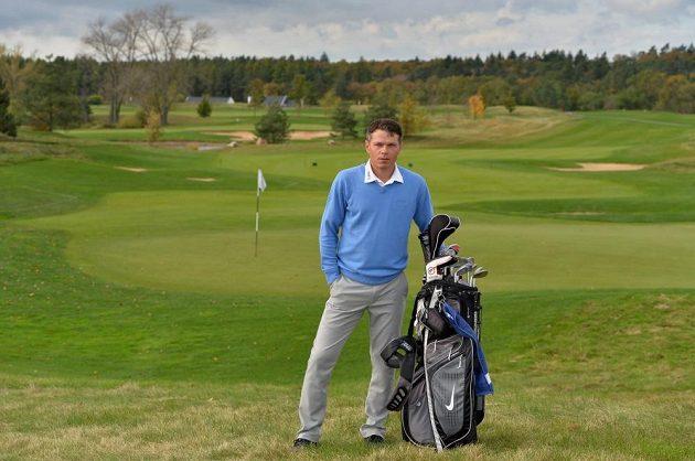 """Libor Sionko ve """"svém"""" golfovém ráji Albatross."""