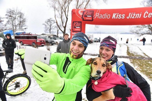 Lipno Ice Marathon - šampioni zblízka.