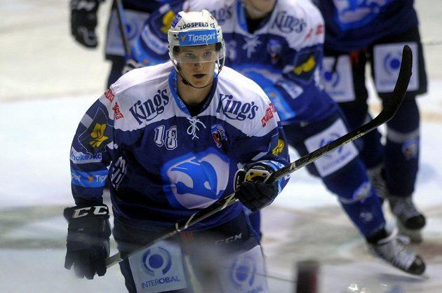 Plzeňský Dominik Kubalík jako první v nové sezóně extraligy vsítil hattrick.