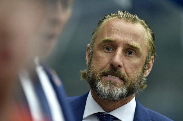 Nespokojený trenér Českých Budějovic Václav Prospal.