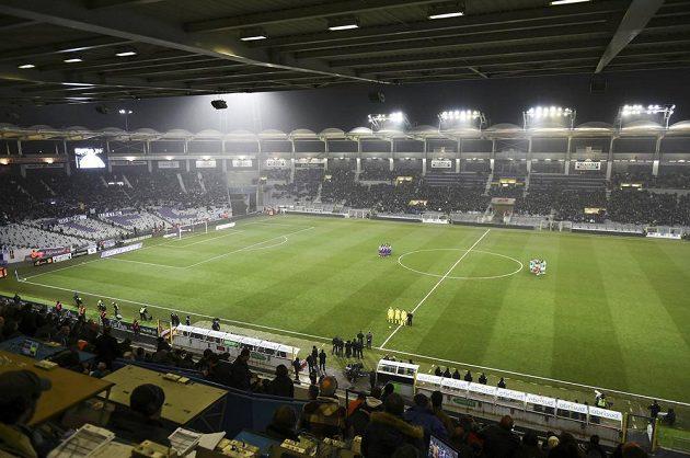 Fotbalový stadión v Toulouse, kde se česká reprezentace utká na ME 2016 se Španělskem.