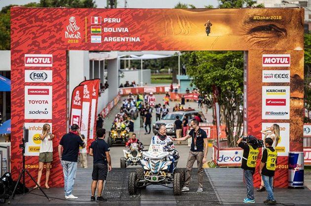 Zdeněk Tůma z BARTH Racing při Rallye Dakar 2018.