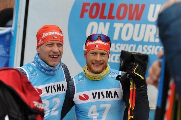 Alexi Jeannerod (vpravo) a Jan Šrail.
