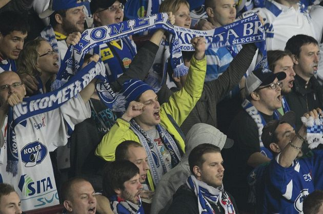 Fanoušci Komety Brno měli důvod k radosti.