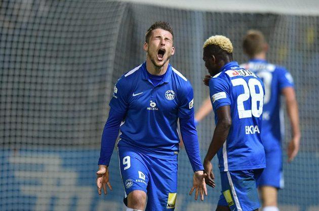 Liberecký Radek Voltr měl v dohrávce 17. kola první fotbalové ligy proti Zlínu několik šancí, ani jednou ale míč do branky nedostal a zápas skončil 0:0.