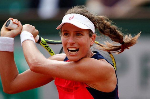 Britská tenistka Johanna Kontaová nepřešla na French Open ani na třetí pokus přes první kolo.