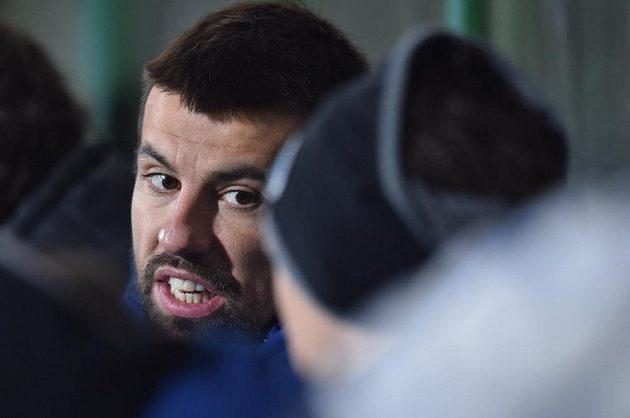 Pro Milana Baroše skončilo podještědské derby už po třech minutách.