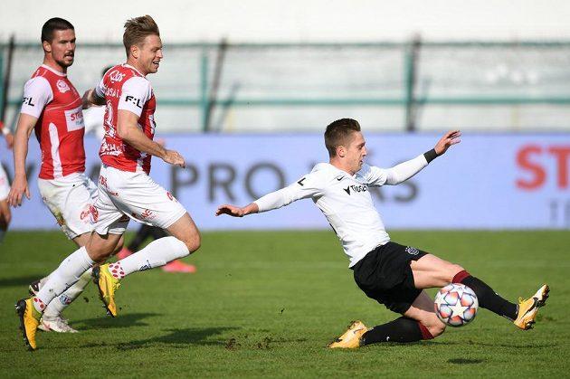 Pardubice hostily ve 28. kole fortuna ligy pražskou Spartu