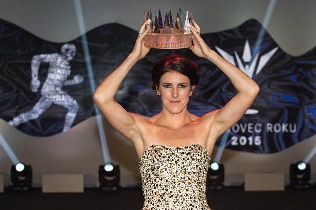 Zuzana Hejnová, vítězka ankety Sportovec roku 2015