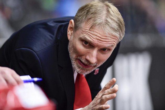 Trenér hokejového Hradce Králové Tomáš Martinec.
