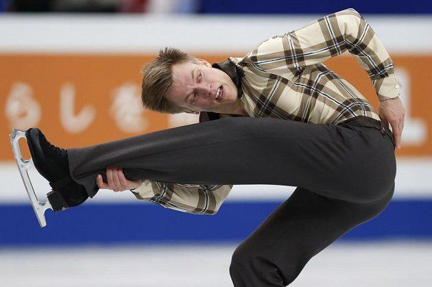 Tomáš Verner při krátkém programu.