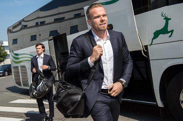 Milan Michálek před odletem do Petrohradu.