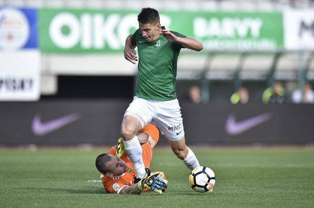 Fotbaisté FK Jablonec přivítali v 5. kole první fotbalové ligy tým Zlína.