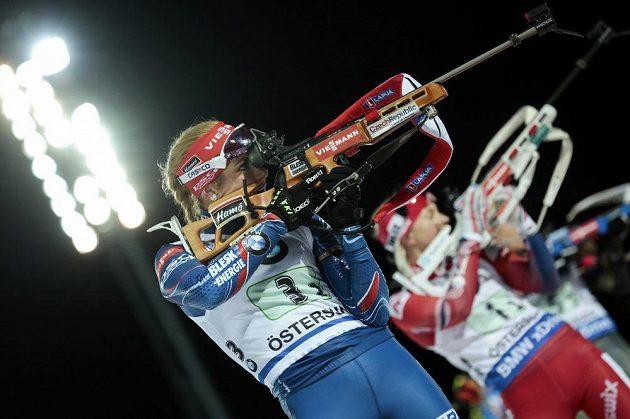 Gabriela Soukalová byla v Östersundu opět českou oporou.