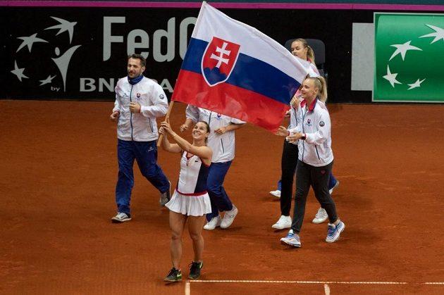 Dominika Cibulková se loučí s fedcupuvou kariérou