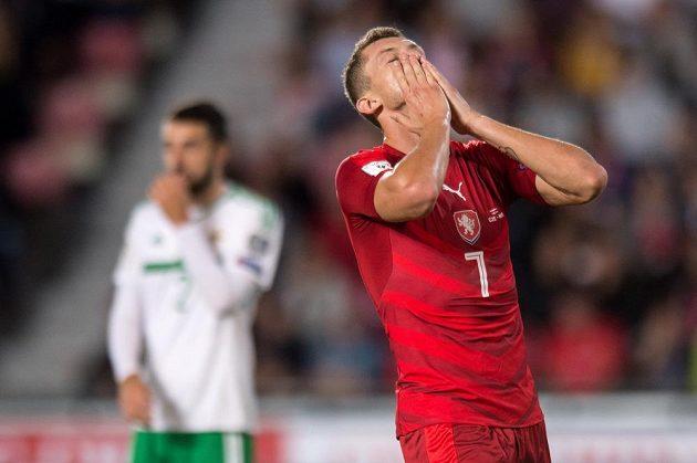 Tomáš Necid nedal gól, Česko remizovalo se Severním Irskem v kvalifikaci na MS 2018.