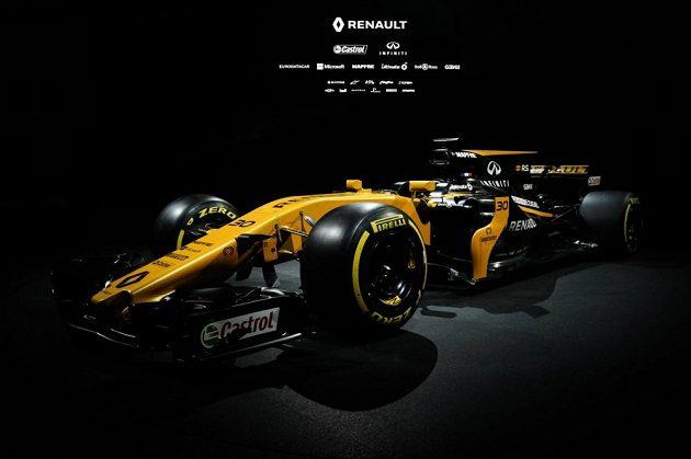 Nový monopost týmu Renault RS 17.