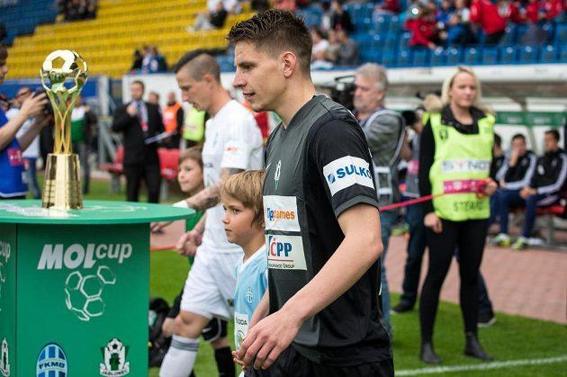 Jablonecký záložník Lukáš Masopust nastupuje k finále MOL Cupu s Mladou Boleslaví.