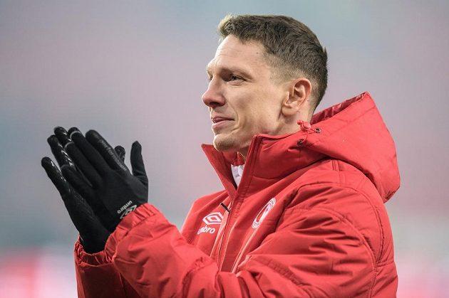 Jiří Bílek ze Slavie se loučí s kariérou po utkání s Baníkem.