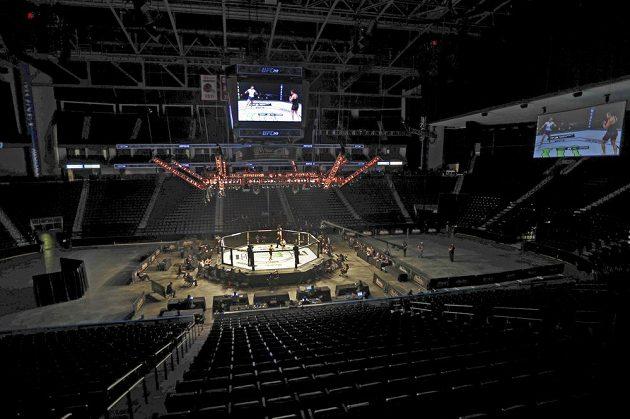 Galavečer UFC 249 v Jacksonville se musel odehrát kvůli koronaviru bez fanoušků.