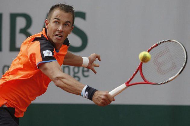 Tenista Lukáš Rosol na svého soupeře Fabia Fogniniho z Itálie nestačil.