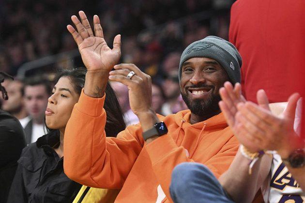 Hvězdný Kobe Bryant ještě v době, kdy hrál za LA Lakers.