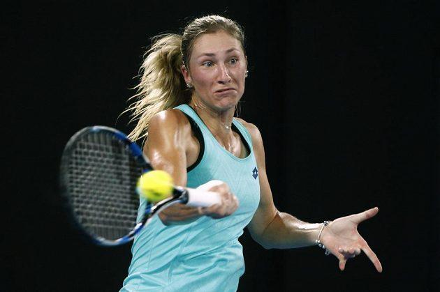 Česká tenistka Denisa Allertová dohrála ve dvouhře na Australian Open v osmifinále, nestačila na Ukrajinku Elinu Svitolinovou.