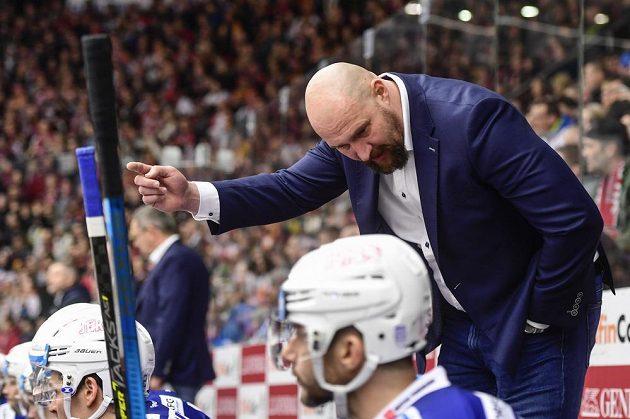 Trenér hokejové Komety Brno Libor Zábranský.