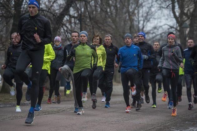 Nedávno absolvovali odsouzení a jejich podporovatelé první společný trénink v Praze.