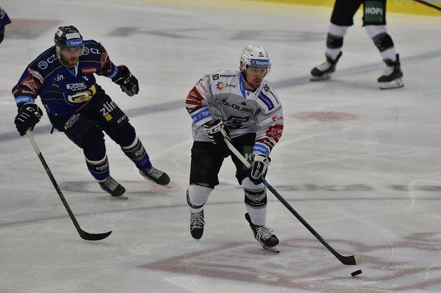 Hokejisté Zlína hostili v sedmém kole extraligy Karlovy Vary