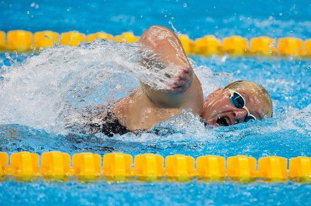 Plavkyně Běla Třebínová získala bronz na paralympijských hrách v Riu a zároveň první medaili pro českou výpravu. Třetí byla na 50 metrů volný způsob.