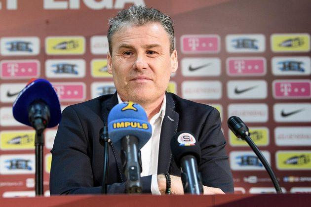 Nový trenér Sparty Praha Pavel Hapal.