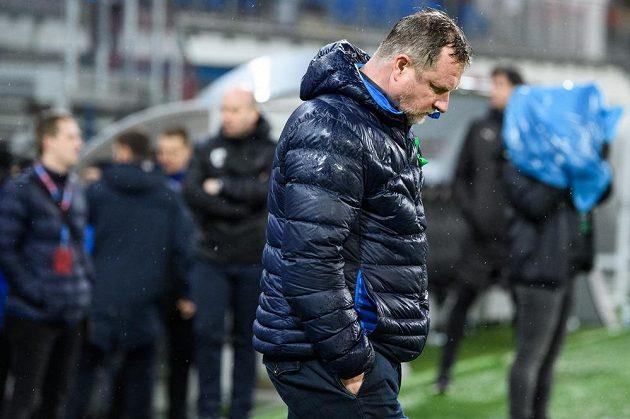 Trenér Viktorie Plzeň Pavel Vrba po utkání 20. kola Fortuna ligy.