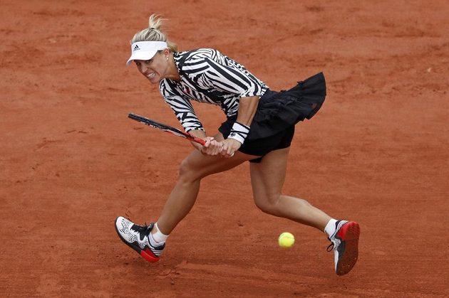 Angelique Kerberová skončila v Paříži už v prvním kole.