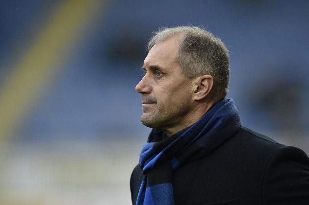Trenér fotbalového Zlína Roman Pivarník.