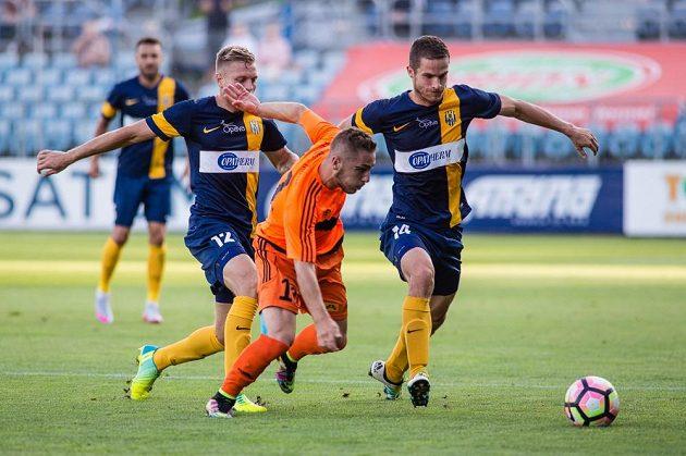 Nikolas Šumský dal ve dvou zápasech ve Frýdku-Místku dva góly. Trefil se i o víkendu v Opavě.