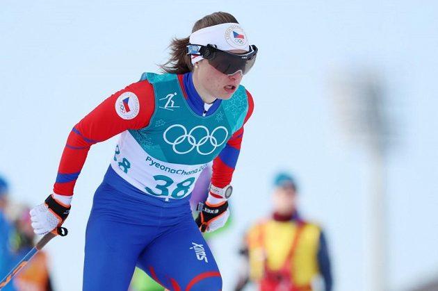 Petra Nováková skončila v závodě na 10 km volně 28.