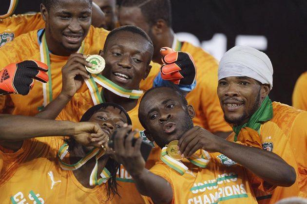 Jsme šampióni! Sloni již s medailemi.