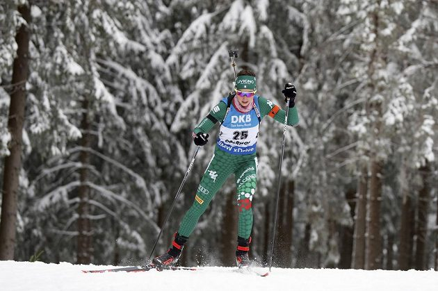 Italka Lisa Vittozziová vyhrála sprint v Oberhofu.