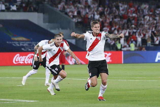 Brunu Zuculini byl jedním z úspěšných střelců fotbalistů River Plate.