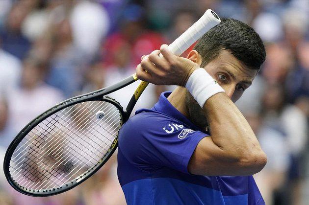 Srbský tenista Novak Djokovič neměl tentokrát ve finále US Open nárok.